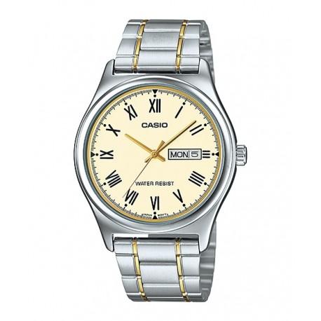 ساعت مردانه کاسیو مدل MTP-V006SG-9B