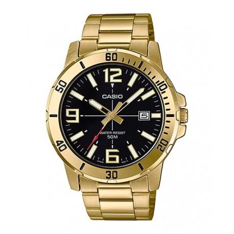 ساعت مردانه کاسیو مدل MTP-VD01G-1BV