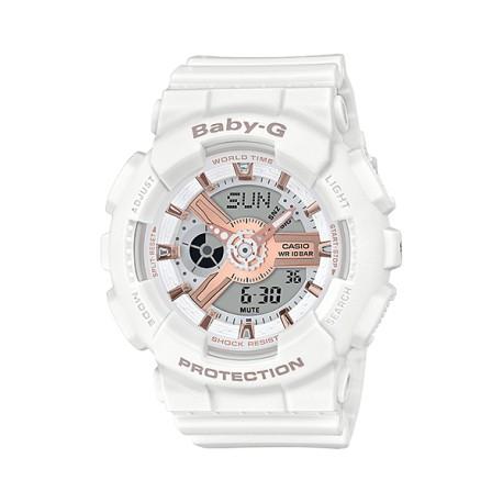 ساعت زنانه کاسیو BABAY-G مدل BA-110RG-7A